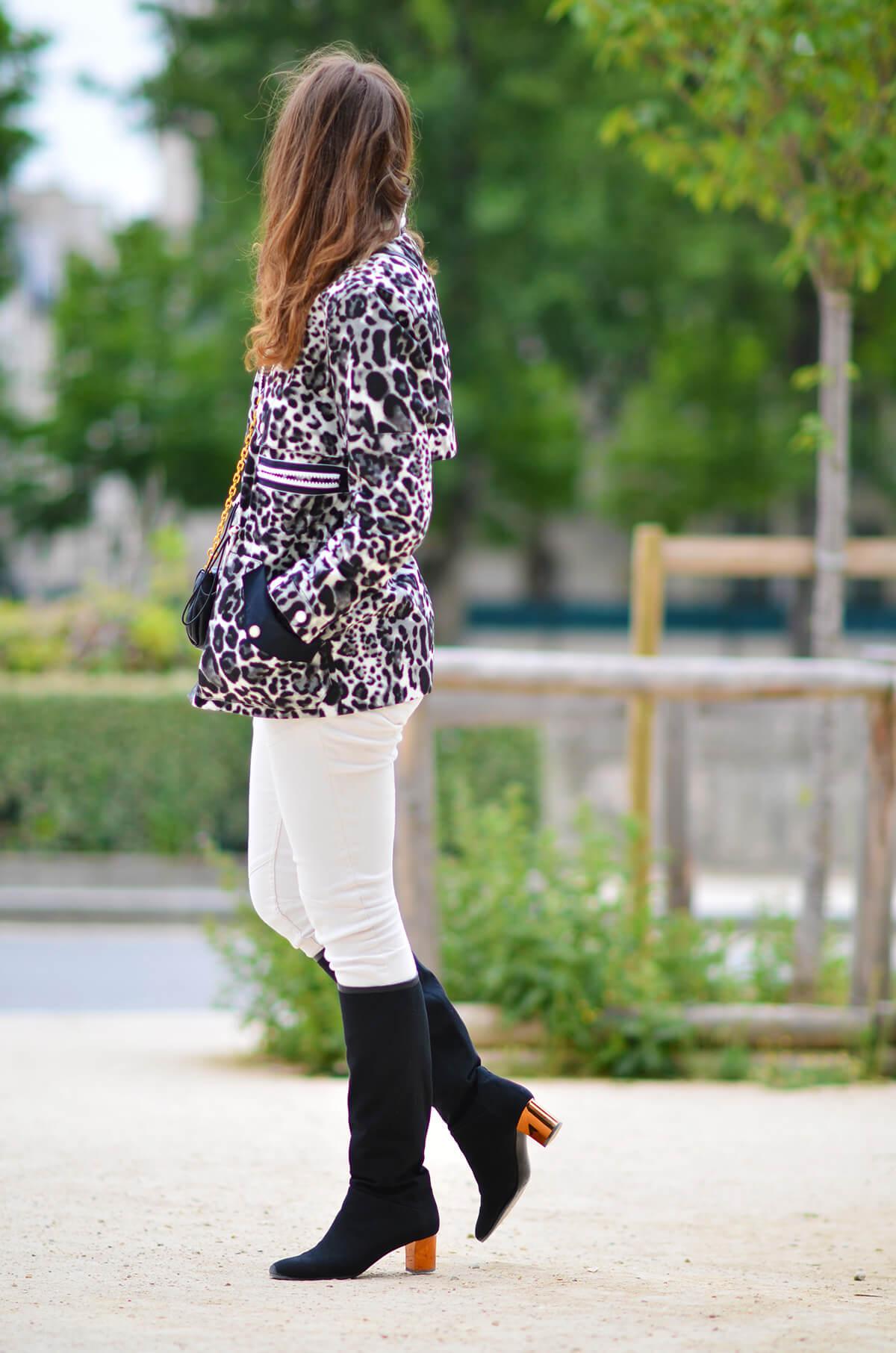 The Wild Parisian parka leopard
