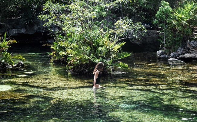The Wild Parisian au cenote Azul